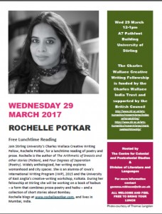 Rochelle Potkar March Event - Stirling, Scotland