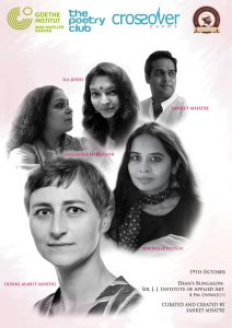 Crossover Poems Readings At Sir J J Institute Of Applied Arts 19th Oct Rochelle Potkar